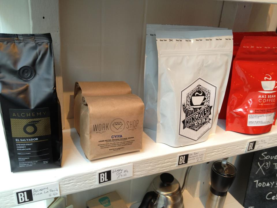 Brew Lab retail bags