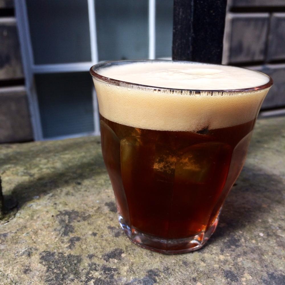 Dry-hopped Cascara & Apricot Soda