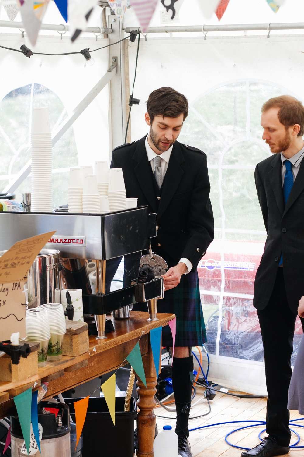 Coffee for weddings   Professional baristas and personalised coffee for your big day.