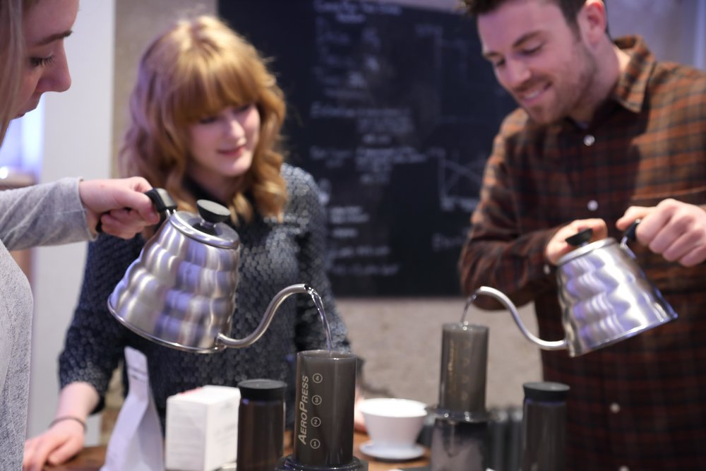 Filter Brewing Masterclass   Learn how to brew complex, flavourful coffee at home.   Find out more