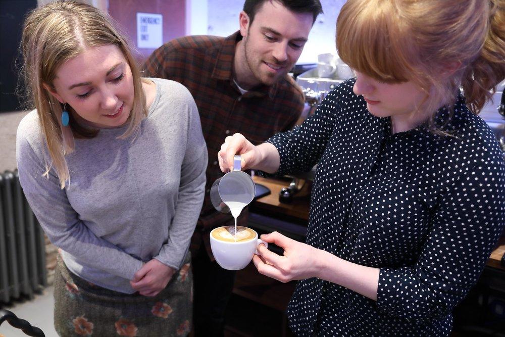 Latte Art Masterclass