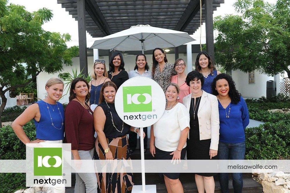 Cayman's 100WHF NextGen Committee 2017-2018. Photo by Melissa Wolfe