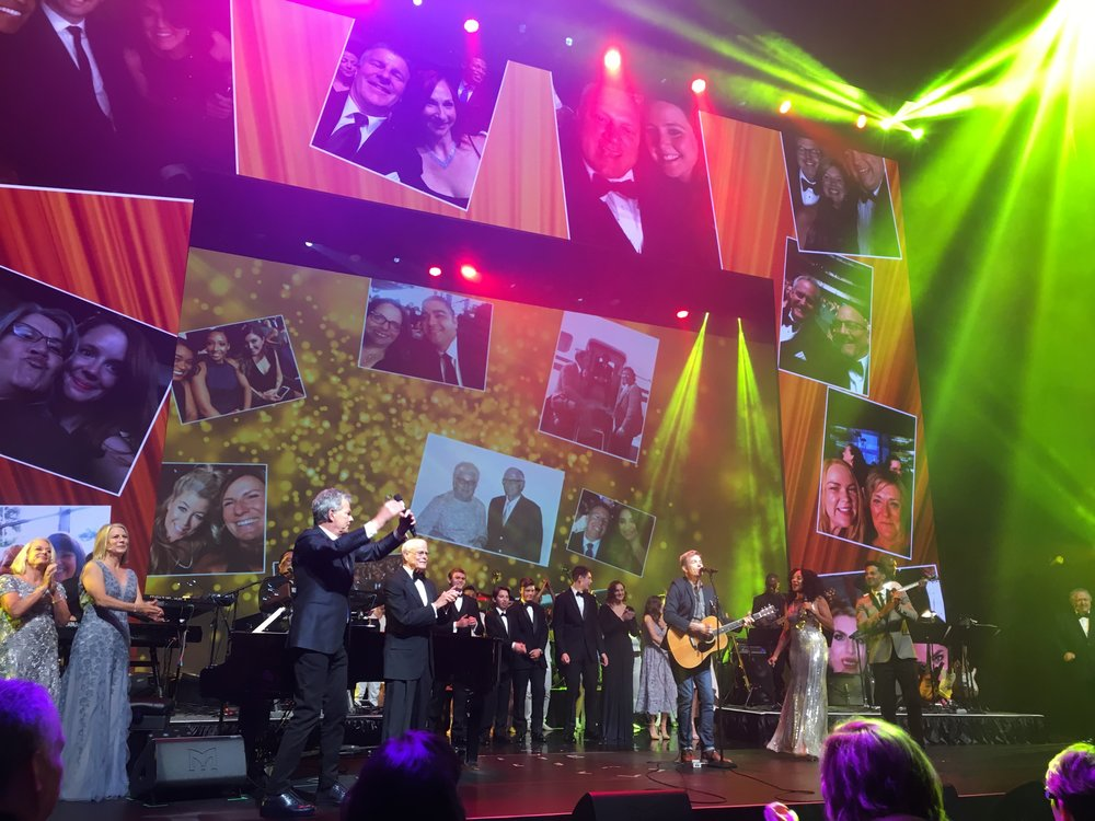Lionel performs with David Foster (conducting) at Freeman XP 90th Anniversary Celebration, Winspear Opera House, Dallas TX.