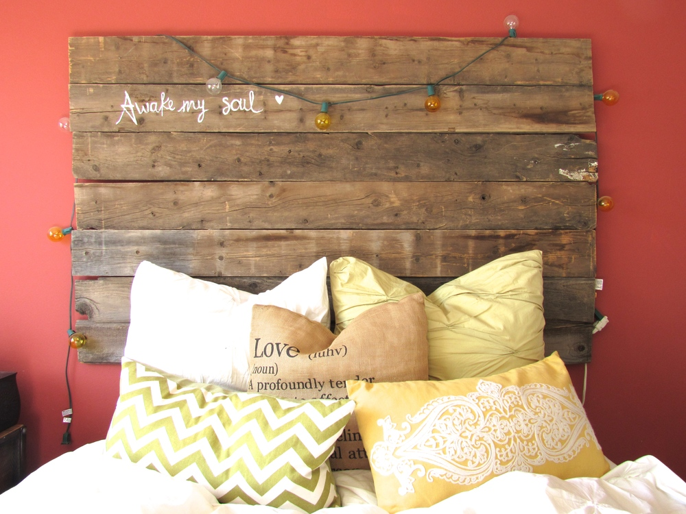 diy wood headboard  details, darling, Headboard designs