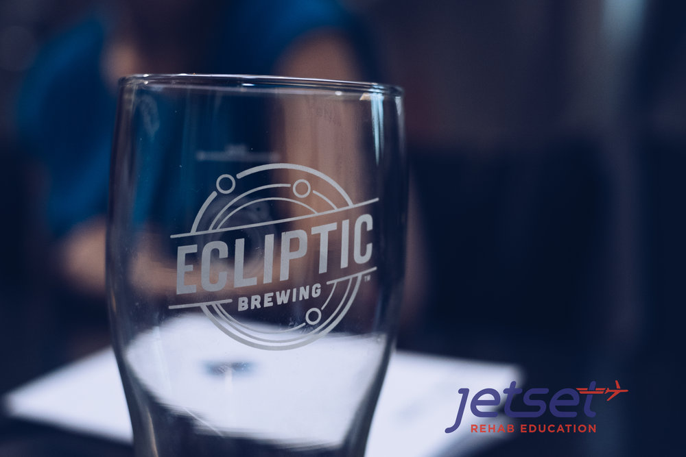 We would like to thank   Ecliptic Brewing   for the great service and amazing food and drink.  The space was amazing.  A great time networking and meeting new friends.