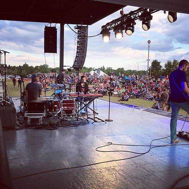 Another great weekend of summer festivals! August Blast, One Rock and @winklerharvestfestival thanks for having us! Until next time...✌🏻