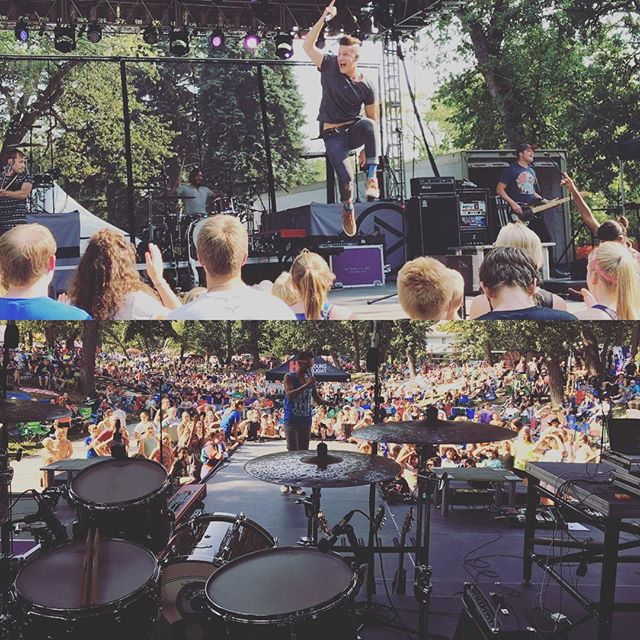 Such a great weekend at @otcmusicfestival! #bestsummerever #floodthestone