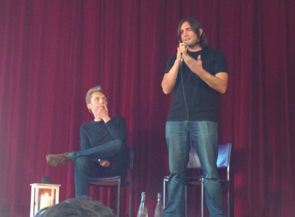 The Minimalists in Melbourne.