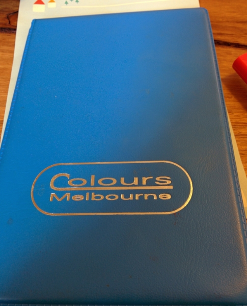 Katrina's Colour Book