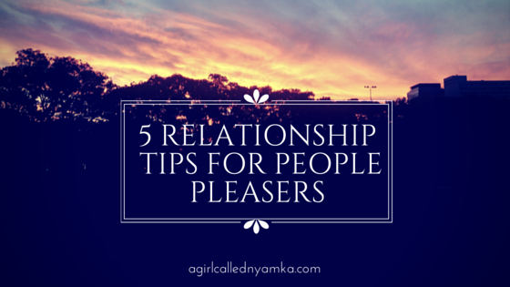 People pleasers and relationships