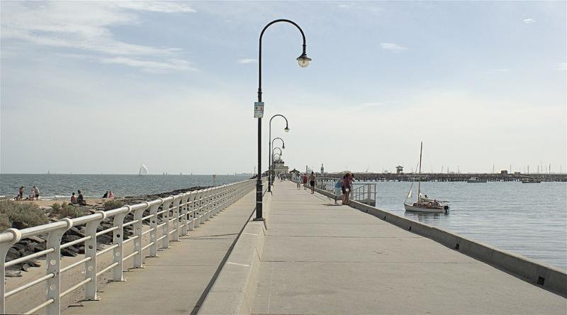 St Kilda Pier  Flickr: gcmenezes