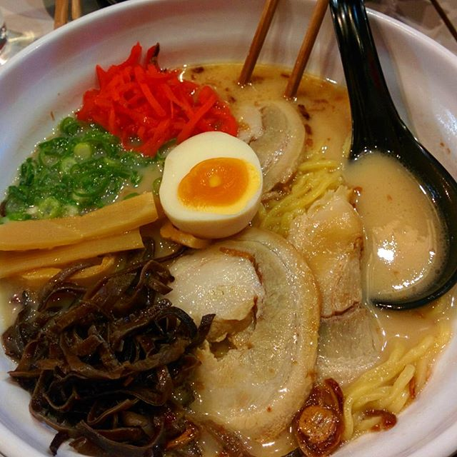 Noods from Last Saturday :) #MynameisNyamkaiLoveRamen