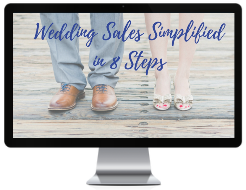 wedding sales simplified