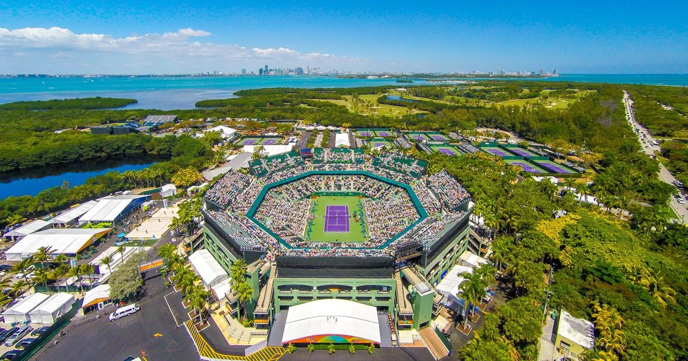Tennis Center at Crandon Park,    source:   Creative Commons