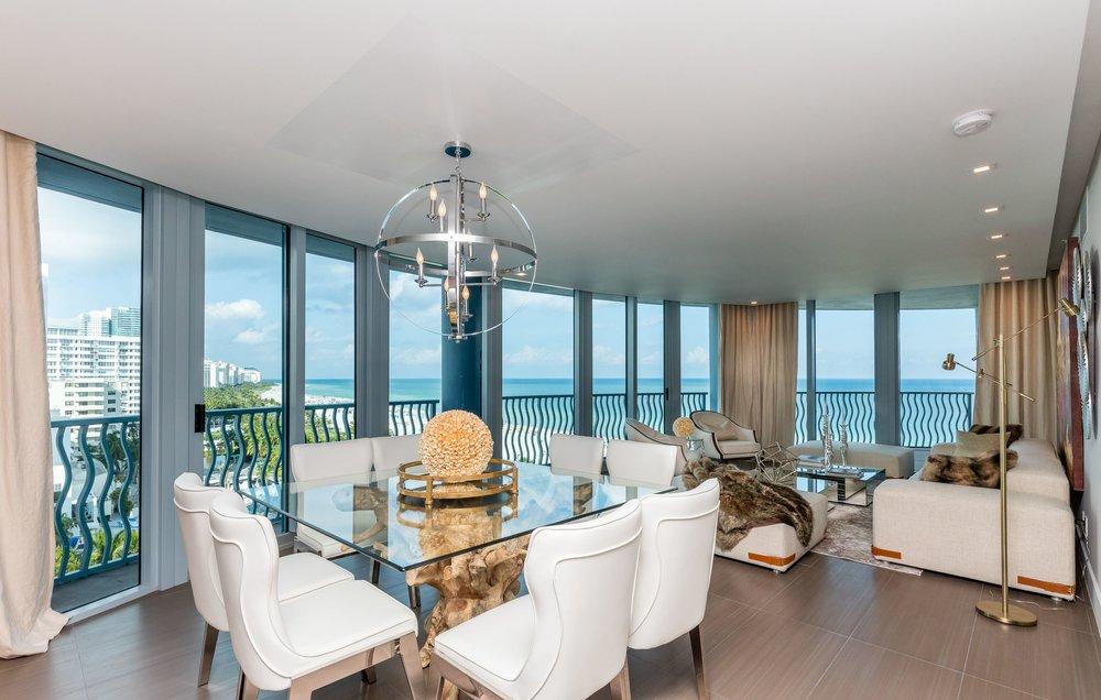 1500 Ocean Dr #1001 Miami Beach, FL  Dining Room Living Room.jpg