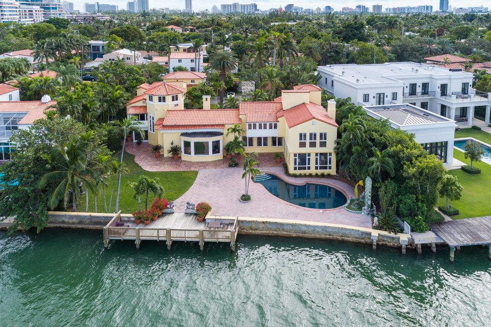 4736 N Bay Rd, Miami Beach
