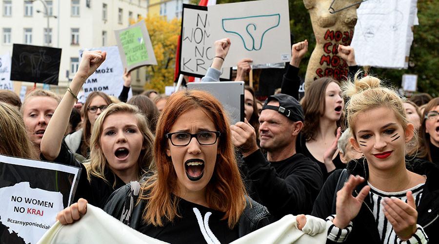Feminist UK Magazine Parallel Magazine - Czarny Protest Poland