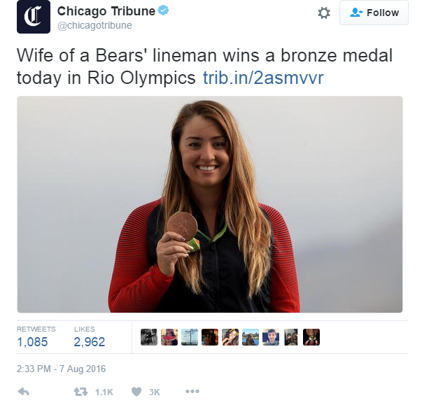 UK Feminist zine Parallel Magazine - Sexism in 2016 Olympics Rio
