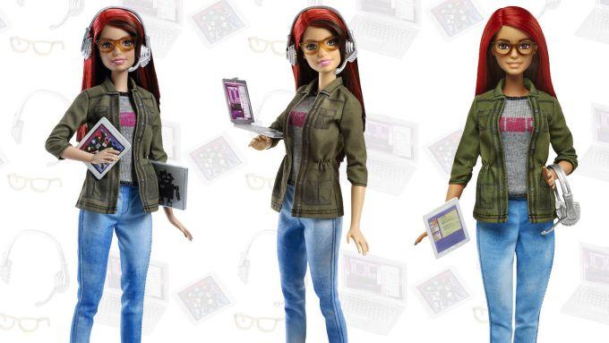 UK feminist zine Parallel Magazine - Feminist Hacker Barbie doll