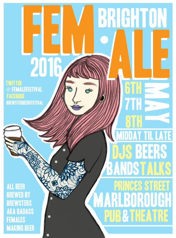 UK feminist zine Parallel Magazine - FEM.ALE Brewster Beer Festival Norwich Interview Erica Horton