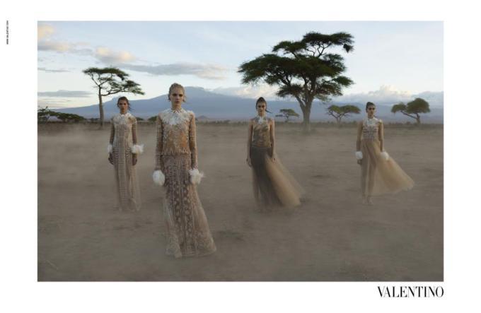 Uk feminist zine Parallel Magazine - Valentino's African Summer anti-fashion blog article