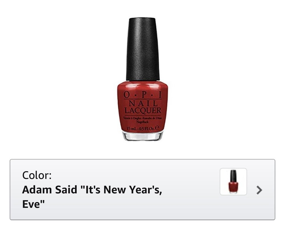 OPI nail polish last minute gift idea