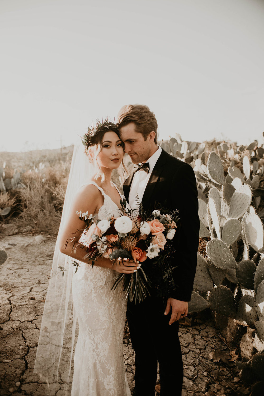 Elevated Boho Romantic Desert Styled Shoot