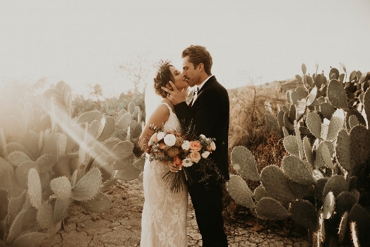 Elevated Boho Romantic Desert Styled Shoot
