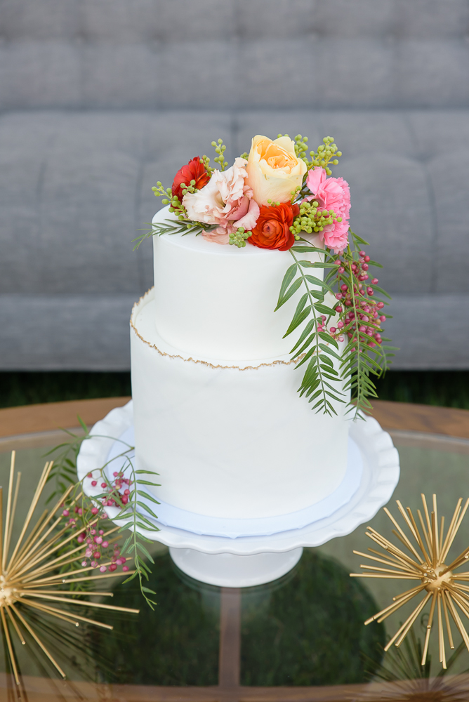 Mid-Century Modern Wedding Styled Shoot