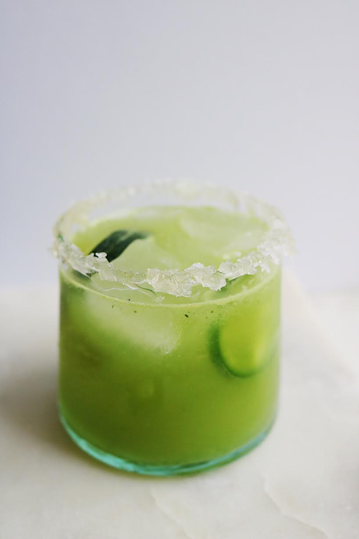 Cinco De Mayo Spicy Cucumber Margaritas
