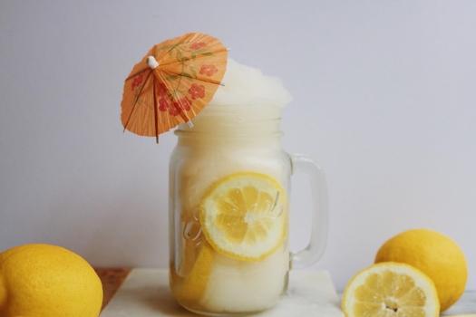 2 Ingredient Boozy Frozen Lemonade