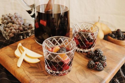 Dark Halloween Sangria Recipe