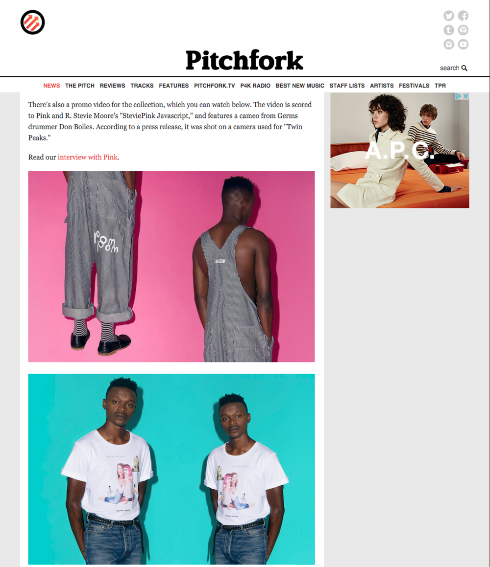 Pitchfork w Ariel Pink X Whole