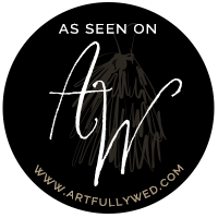 featured on artfully wed