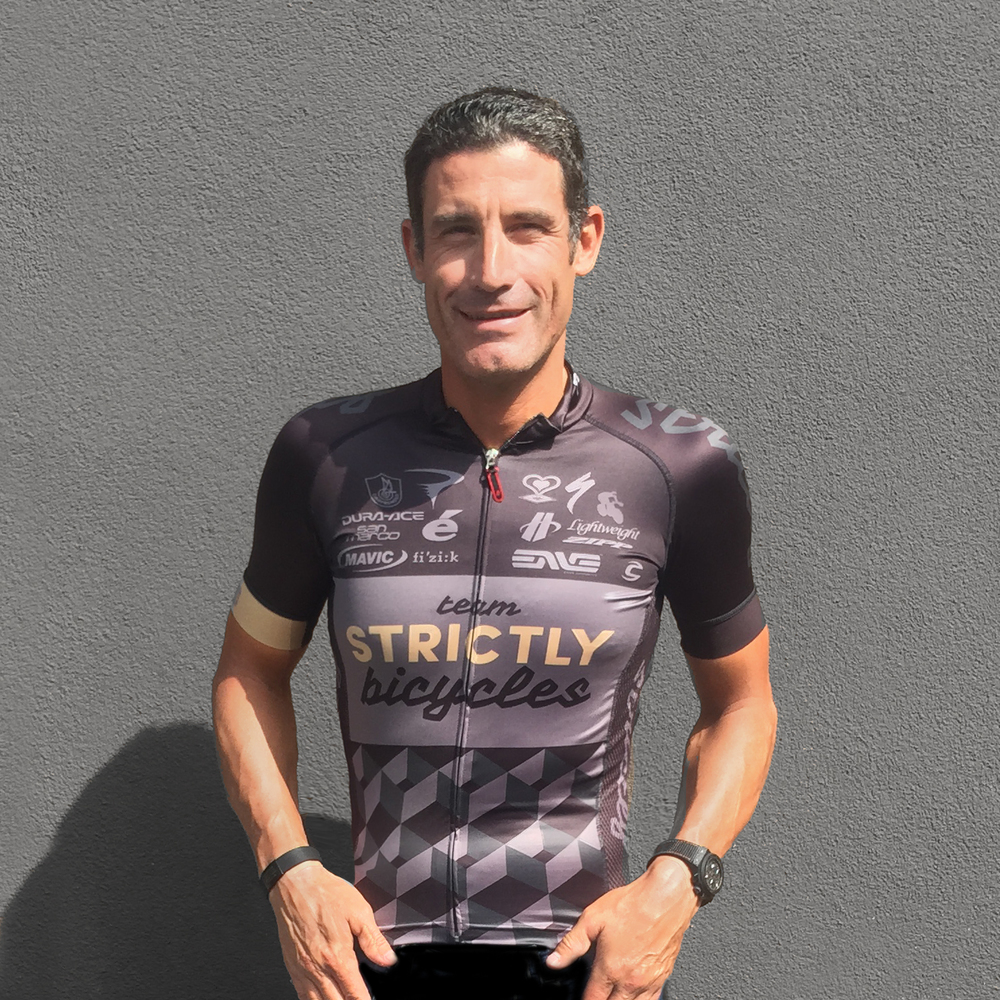 George Hincapie in his Poseur Strictly Kit.