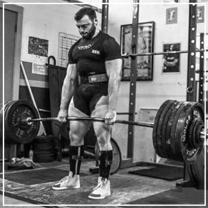 DEADLIFT DEMO WITH BEN POLLACK
