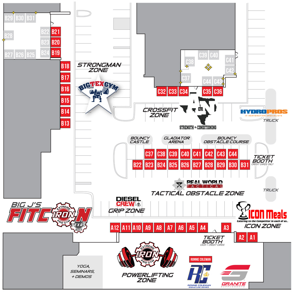 FITCON VENUE LAYOUT