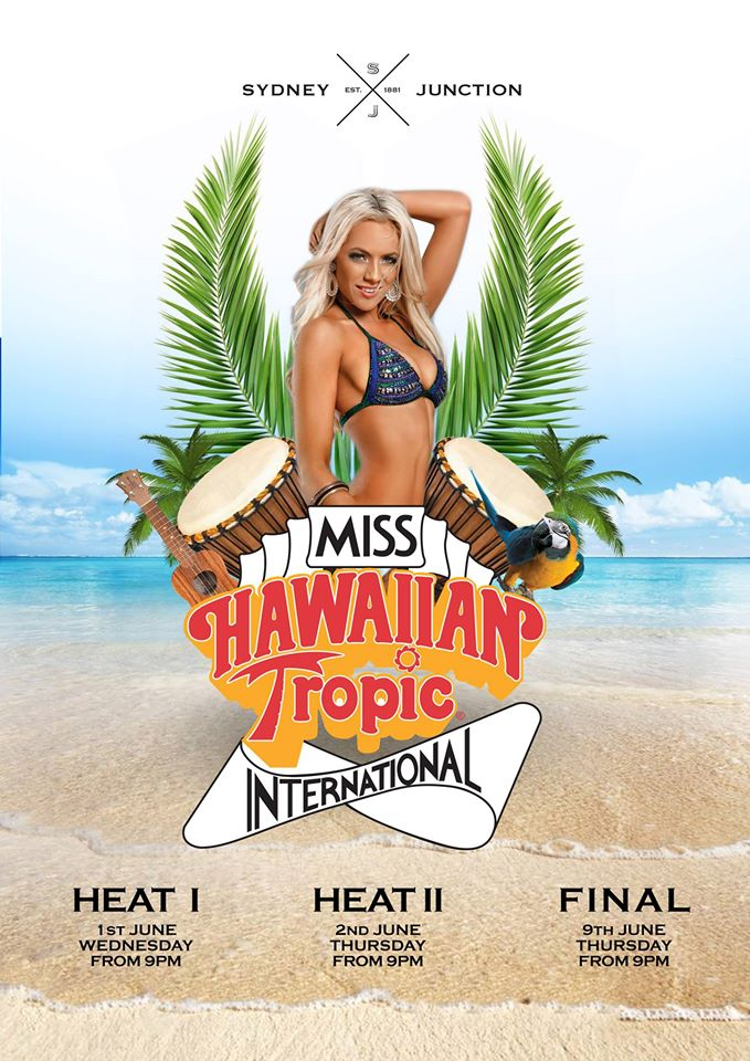 Miss Hawaiian Tropic at Sydney Junction Hotel