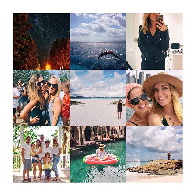 Travel, exploring, adventure, family, friends, and a little fashion...these are a few of my favourite things 😍  #luckygirl #adios2017 #hola2018 #mymymelbourne #bestnine2017