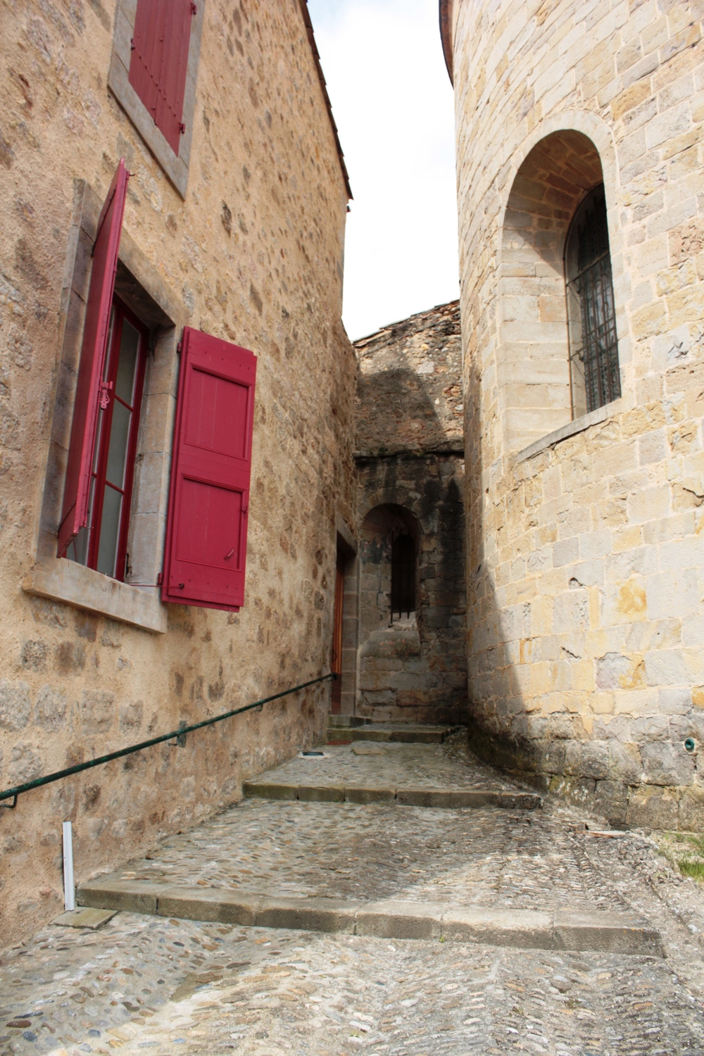 French house in centre of St Hillaire, France