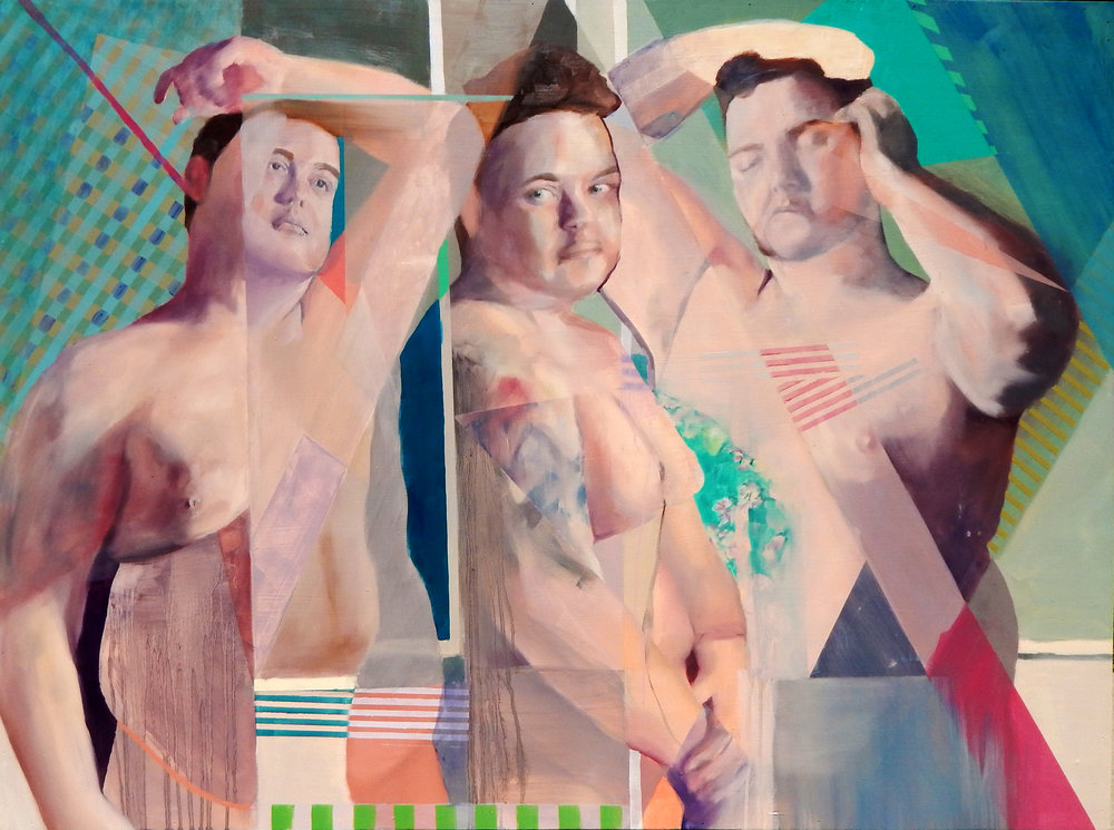 Corey #1   Oil on panel  36 x 48  2015