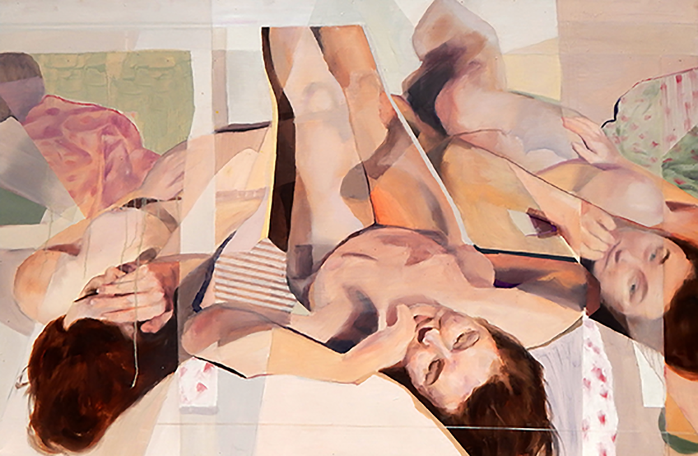 Kara #2   Oil on panel  32 x 48  2015