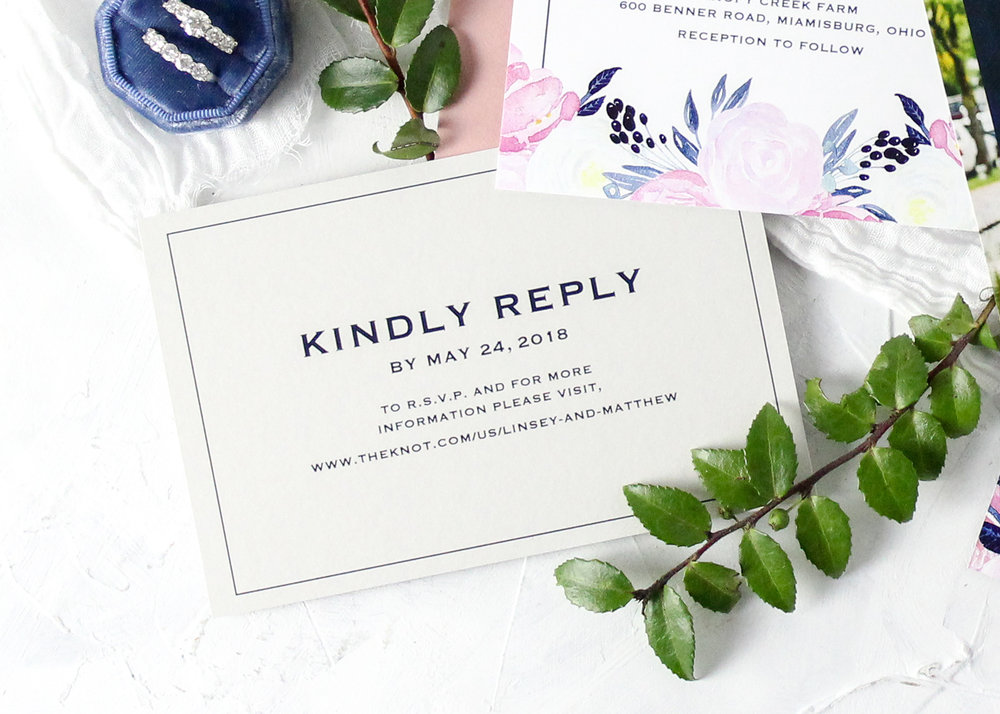 Online Reply Card