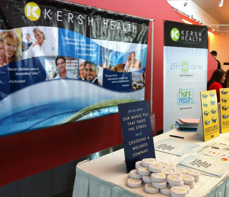 Kersh Health Trade Show Booth