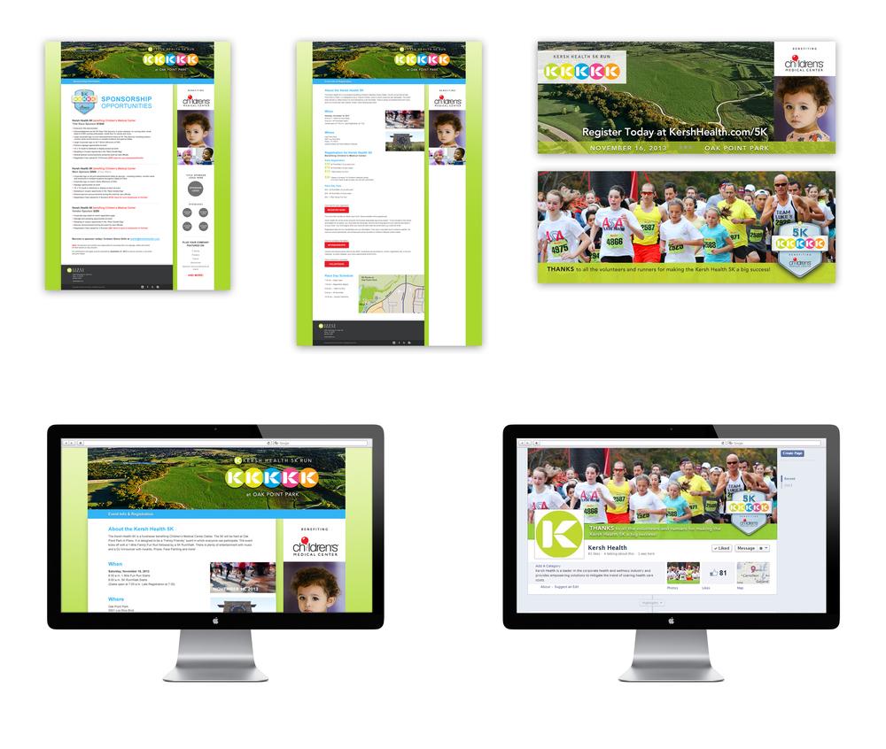 Kersh Health 5K Website Design