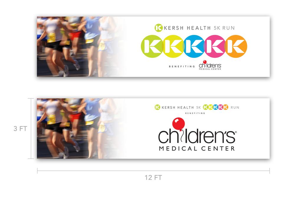 Kersh Health 5K Table Banners