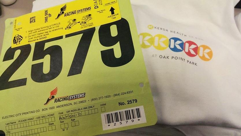 Kersh Health 5K Runner Packets