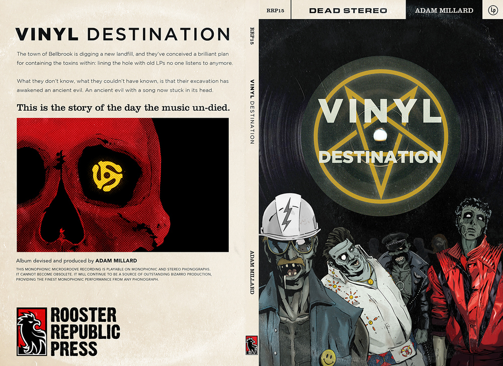 Vinyl Destination Book Jacket