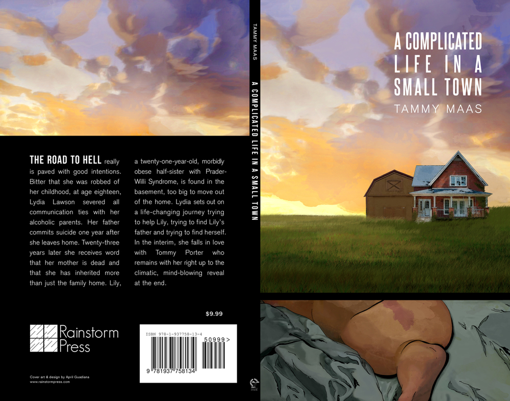 A Complicated Life in a Small Town Book Jacket