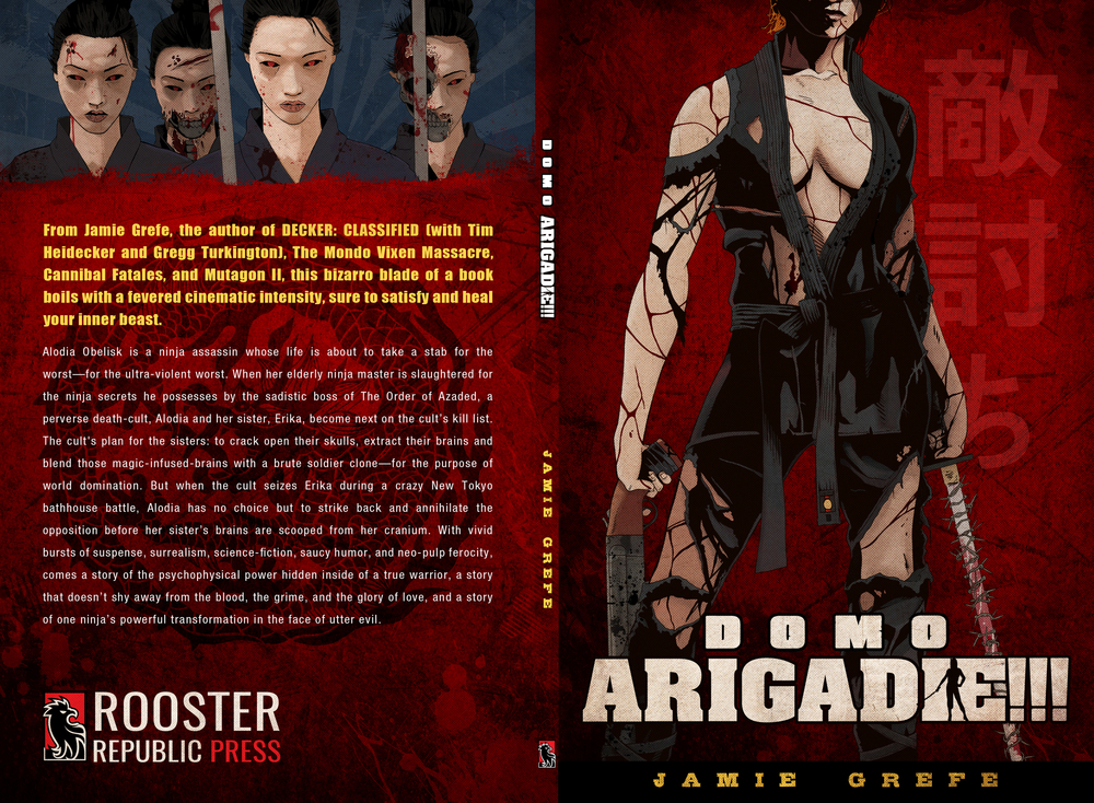 Domo ArigaDIE!!! Book Jacket